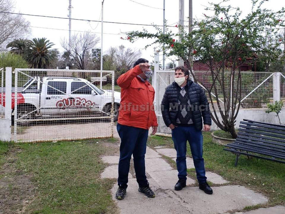 RECORRIDA DE AUTORIDADES MUNICIPALES